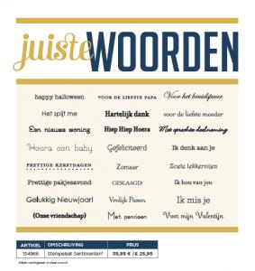 1. niederländ. stempelset