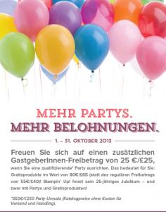 mehr parties okt