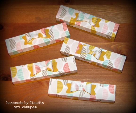 Kleine Boxen für Süßes