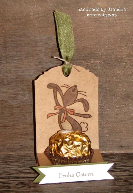 Goldiger Ostergruß 1