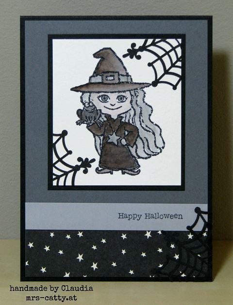 Die erste Halloweenkarte 1