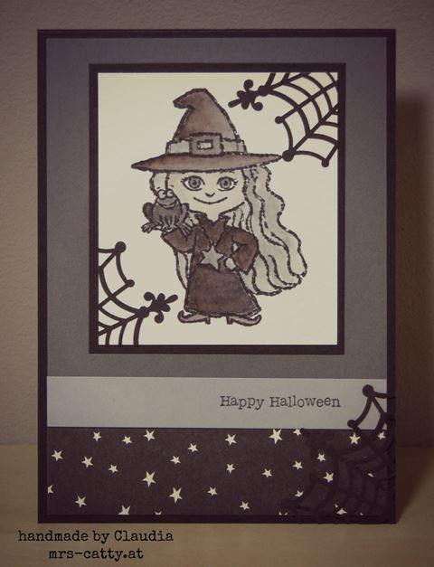 Die erste Halloweenkarte 2