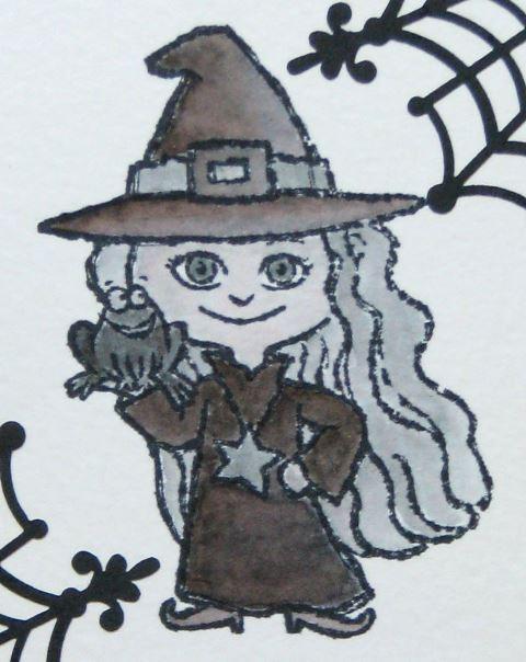 Die erste Halloweenkarte 3