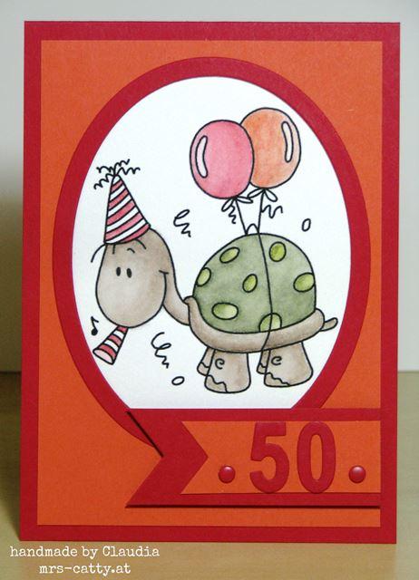 Ein 50er im Zeichen der Schildkröte 1