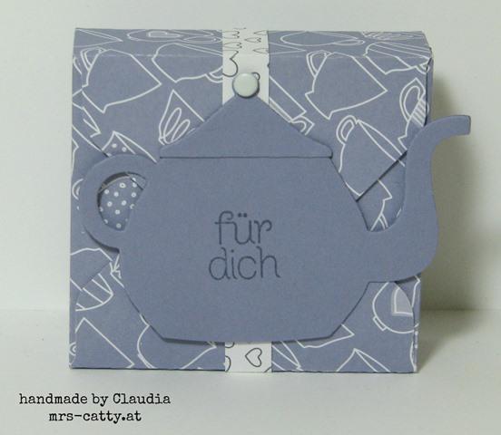 Teeverpackungen mit dem Stanz- und Falzbrett für Umschläge 2