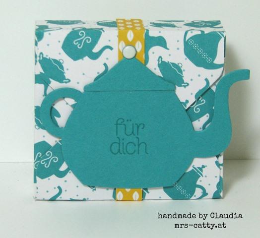 Teeverpackungen mit dem Stanz- und Falzbrett für Umschläge 3