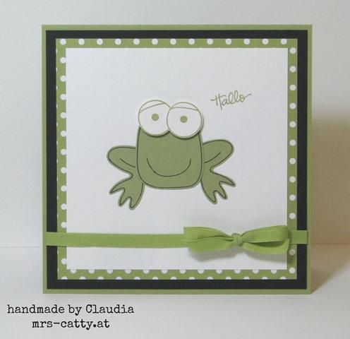 Playful Pals - der Frosch 1