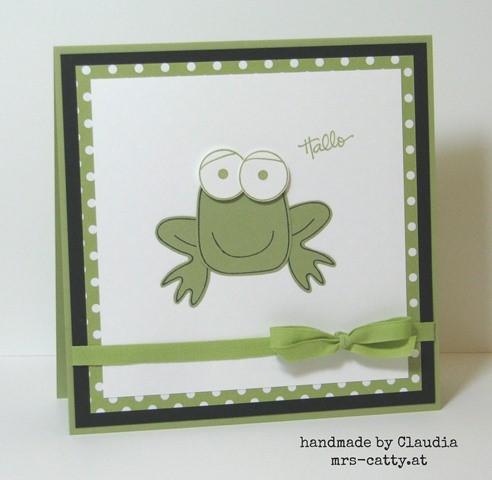 Playful Pals - der Frosch 2