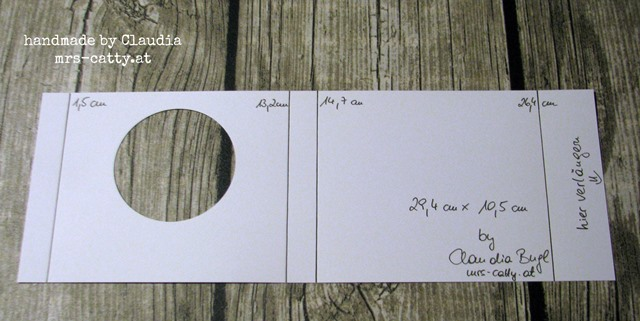 Pop-up Diorama Card Claudia