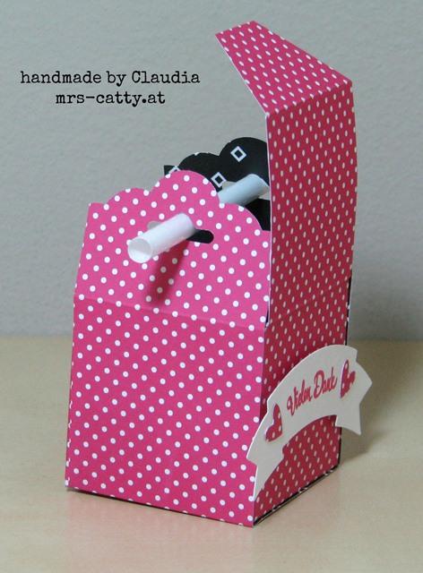 Box mit Strohhalm-Griff 4, Stampin`Up!, Verpackung