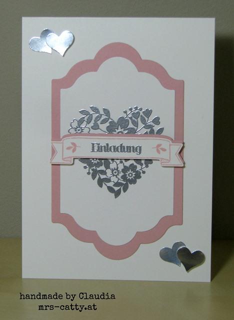 Hochzeitseinladungen, Hochzeit, Stampin`Up!