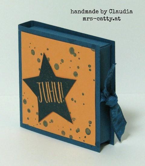 Kleine Schoko - kleine Verpackung 2, Stampin`Up!