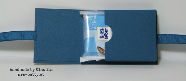 Kleine Schoko - kleine Verpackung 4, Stampin`Up!