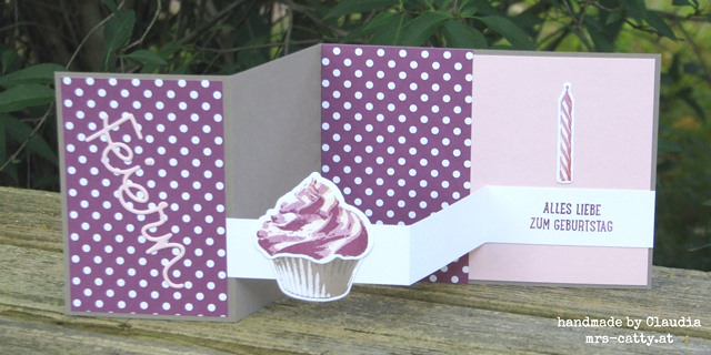 Pop up Z fold card 5