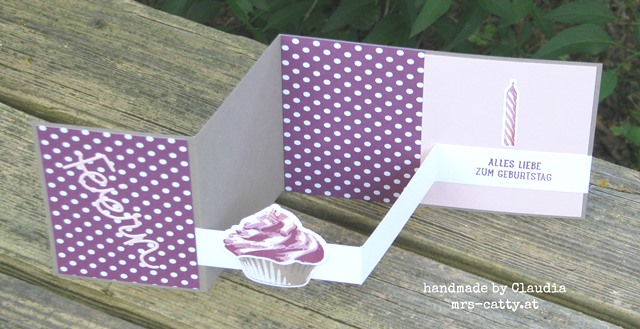 Pop up Z fold card 6