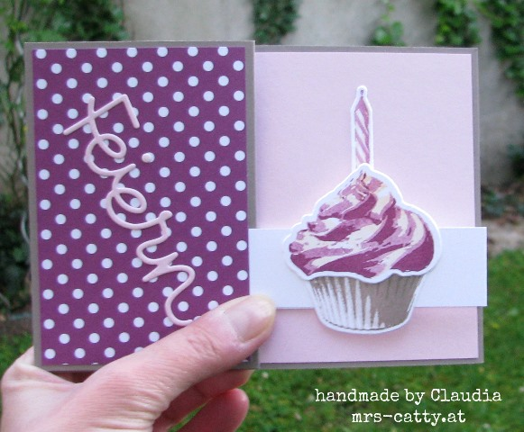 Pop up Z fold card