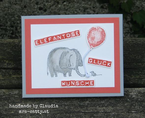 Elefantöse Glückwünsche