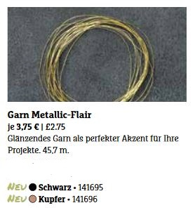 Garn Metallic-Flair