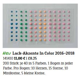 Lack-Akzente In Color 2016-2018