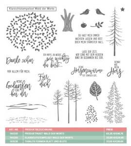 Stempel Wald der Worte