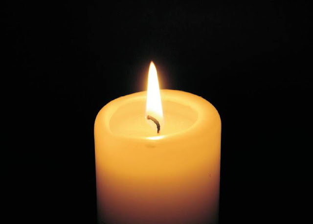 Kerze für Mama