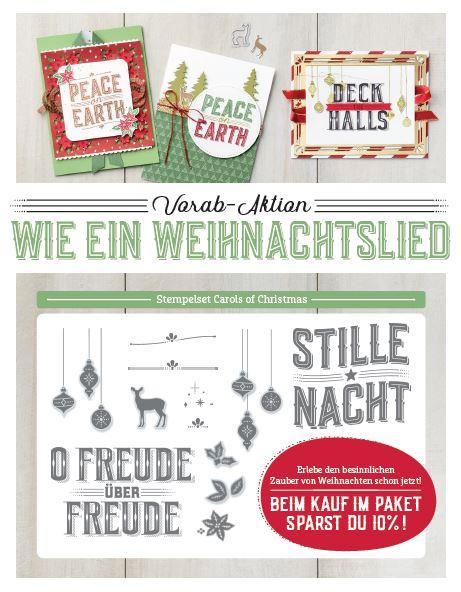 Flyer Wie ein Weihnachtslied