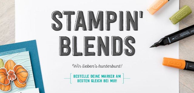 Stampin` Blends