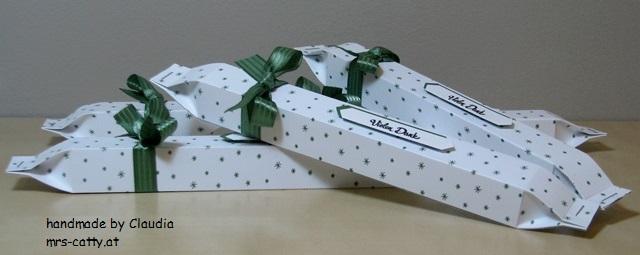 Verpackung für ein Amicelli