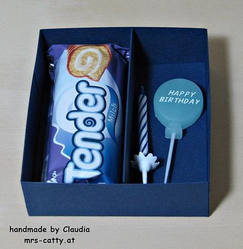 H. Geburtstag, Stampin`Up!, Verpackung 4