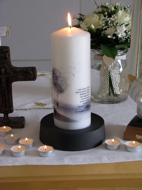 Kerze Altar