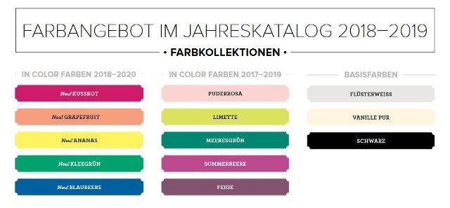 Farbangebot