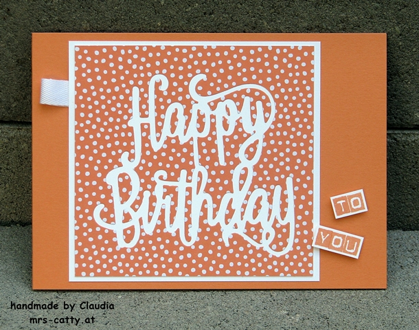 Geburtstag, Karte, Happy Birthday, Labeler Alphabet, Stampin Up! 2JPG