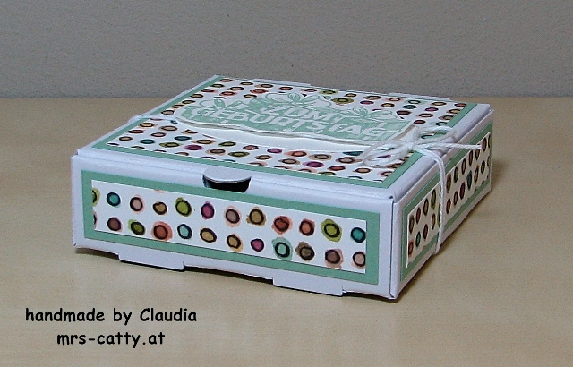 Geburtstag, Mini Pizza Box, Wunschparade, Stampin`UP! 1