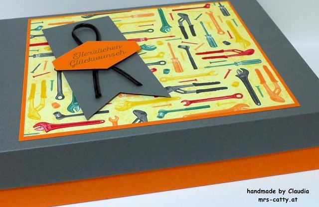 Geburtstag, Verpackung, In der Werkstatt, Blühende Worte, Stampin`Up! 2