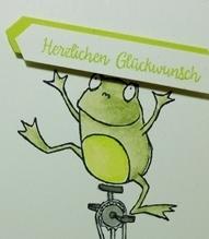 Froschkönig, SAB, Wunschparade, Alles Liebe Geburtstagskind, Geburtstag, Stampin`Up! 2