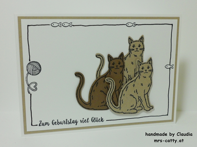 Nine Lives, Geburtstag, Stampin`Up! 2