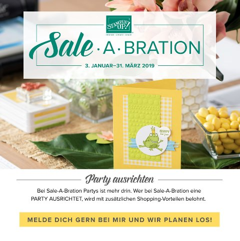 SAB Header Party ausrichten