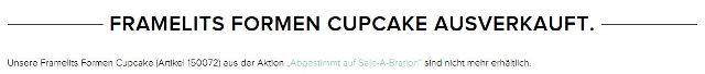 Framelits Cupcake