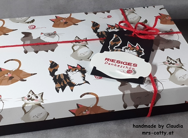 Verpackung, Pampered Pets, DP Tierliebe, Stampin` Up! 1
