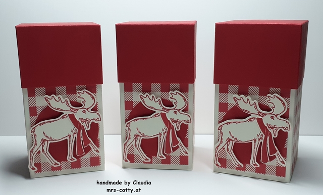 Verpackung, Merry Moose, Stampin`Up!