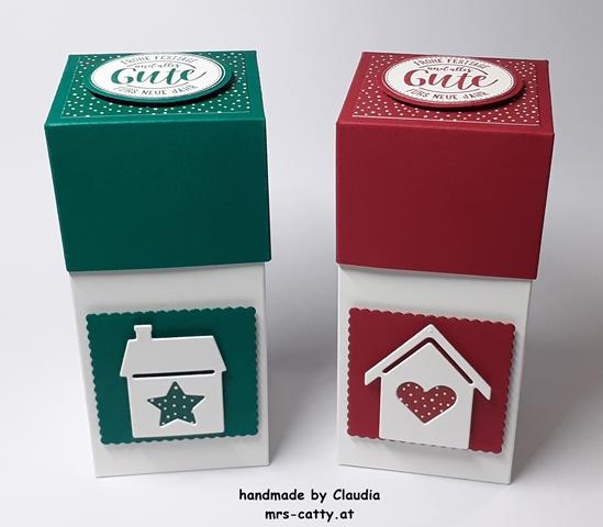 Verpackung, Weihnachten, Unser Zuhause, Weihnachtliche Grüße, Stampin`Up!