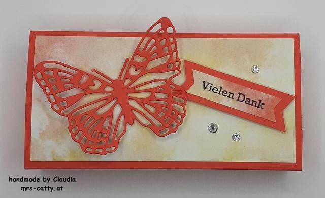 Verpackung, Tatü, Fabelhafte Falter, DP Schmetterlingsschmuck, Klitzekleine Grüße, Stampin`Up!