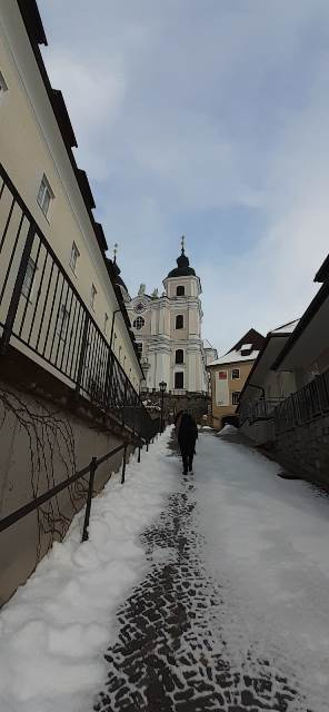 Weg zur Basilika