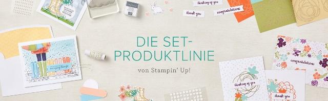 Banner Set-Produktlinie